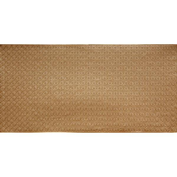 faux tin pvc backsplash roll wall covering wc20 brass 30 39 x2