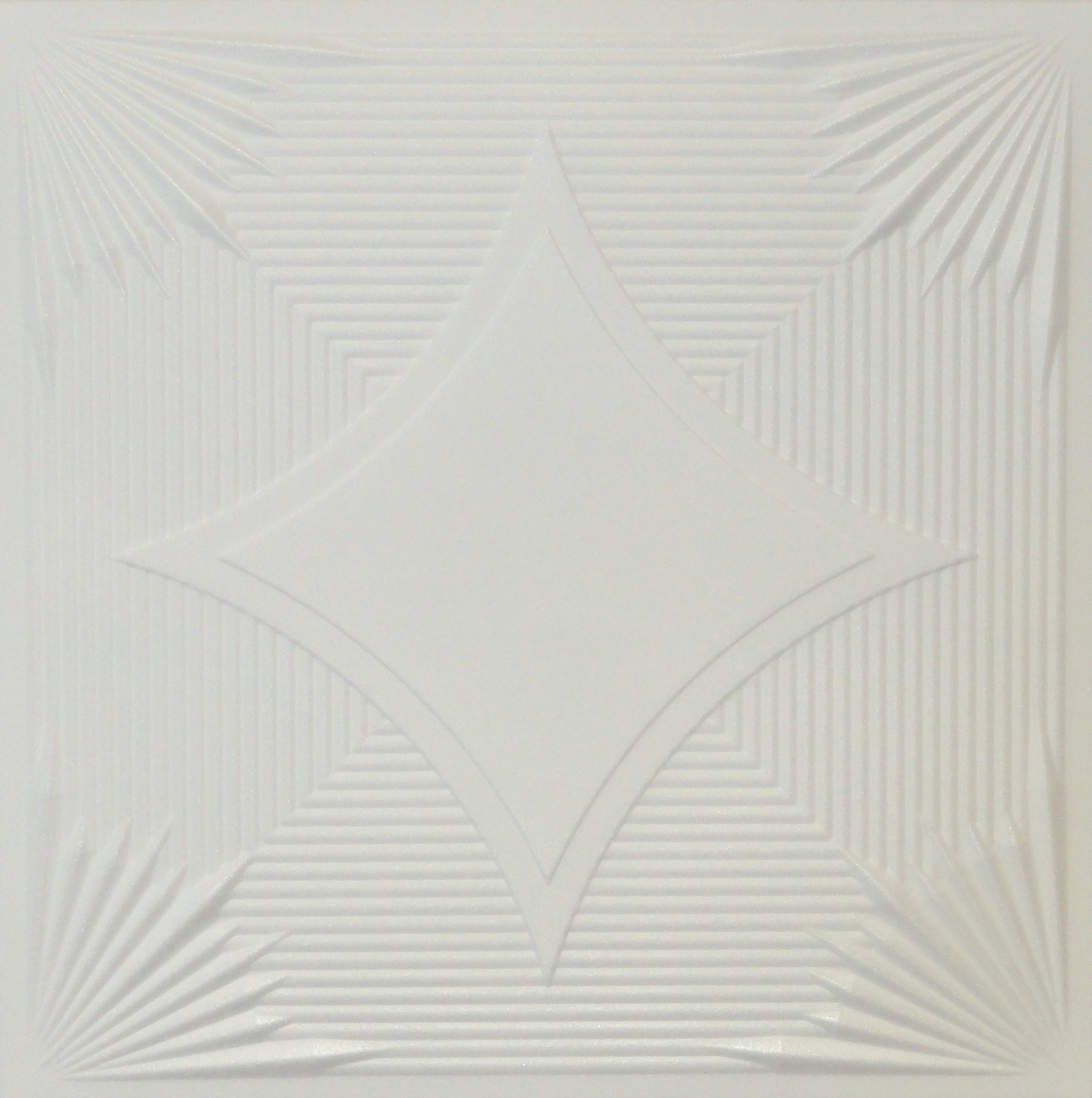 R14 Styrofoam Ceiling Tile 20x20 Plain White