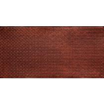 FAUX TIN PVC BACKSPLASH ROLL WALL COVERING - WC20 - ANTIQUE COPPER 25'x2'