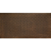 FAUX TIN PVC BACKSPLASH ROLL WALL COVERING - WC20 - ANTIQUE BRASS 30'x2'