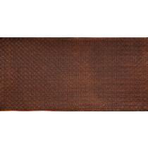 FAUX TIN PVC BACKSPLASH ROLL WALL COVERING - WC20 - ANTIQUE GOLD 25'x2'