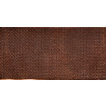 FAUX TIN PVC BACKSPLASH ROLL WALL COVERING - WC20 - ANTIQUE GOLD 30'x2'