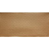 FAUX TIN PVC BACKSPLASH ROLL WALL COVERING - WC20 - BRASS 30'x2'
