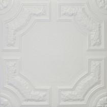 R28A STYROFOAM CEILING TILE 20X20 - PLAIN WHITE