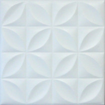 R3 STYROFOAM CEILING TILE 20X20 - PLAIN WHITE