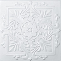 R22 STYROFOAM CEILING TILE 20X20 - PLAIN WHITE