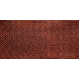 FAUX TIN PVC BACKSPLASH ROLL WALL COVERING - WC20 - ANTIQUE COPPER 30'x2'