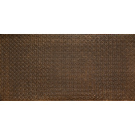 FAUX TIN PVC BACKSPLASH ROLL WALL COVERING - WC20 - ANTIQUE BRASS 25'x2'