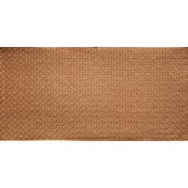 FAUX TIN PVC BACKSPLASH ROLL WALL COVERING - WC20 - GOLD 25'x2'
