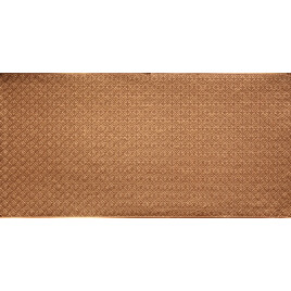 FAUX TIN PVC BACKSPLASH ROLL WALL COVERING - WC20 - GOLD 30'x2'