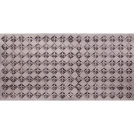 FAUX TIN PVC BACKSPLASH ROLL WALL COVERING - WC80 FLEUR DE LIS - ANTIQUE SILVER 25'x2'