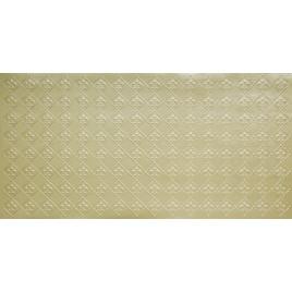 FAUX TIN PVC BACKSPLASH ROLL WALL COVERING - WC80 FLEUR DE LIS - CREAM PEARL 25'x2'
