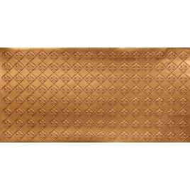FAUX TIN PVC BACKSPLASH ROLL WALL COVERING - WC80 FLEUR DE LIS - GOLD 30'x2'