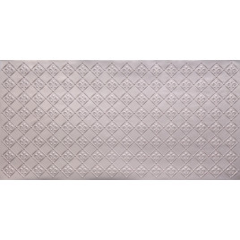 FAUX TIN PVC BACKSPLASH ROLL WALL COVERING - WC90 - SILVER 30'x2'