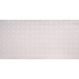 FAUX TIN PVC BACKSPLASH ROLL WALL COVERING - WC80 FLEUR DE LIS - WHITE PEARL 25'x2'