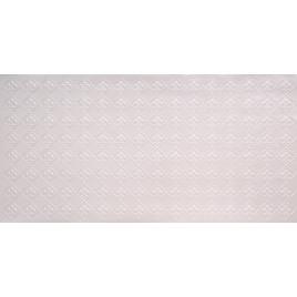 FAUX TIN PVC BACKSPLASH ROLL WALL COVERING - WC80 FLEUR DE LIS - WHITE PEARL 30'x2'