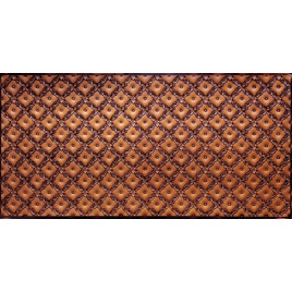 FAUX TIN PVC BACKSPLASH ROLL WALL COVERING - WC70 - ANTIQUE COPPER 30'x2'