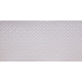 FAUX TIN PVC BACKSPLASH ROLL WALL COVERING - WC90 - WHITE PEARL 25'x2'