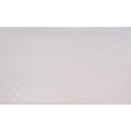 FAUX TIN PVC BACKSPLASH ROLL WALL COVERING - WC70 - WHITE PEARL 25'x2'