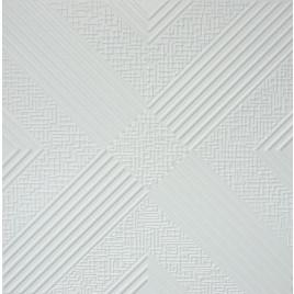 R34 STYROFOAM CEILING TILE 20X20 - ANTIQUE WHITE MATTE