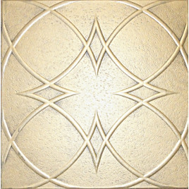 R23 STYROFOAM CEILING TILE 20X20 - ANTIQUE GOLD