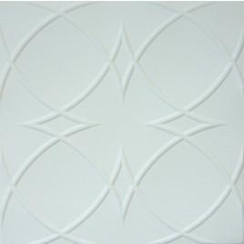 R23 STYROFOAM CEILING TILE 20X20 - ANTIQUE WHITE MATTE