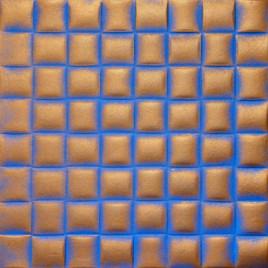 R35 STYROFOAM CEILING TILE 20X20 - BLUE COPPER