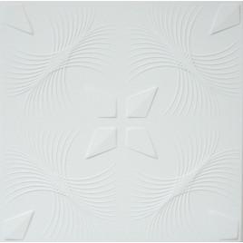 R41 STYROFOAM CEILING TILE 20X20 - ANTIQUE WHITE MATTE
