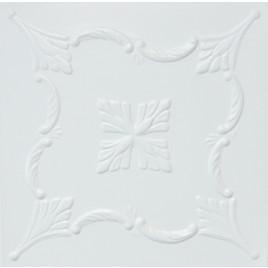 R38 STYROFOAM CEILING TILE 20X20 - ANTIQUE WHITE MATTE