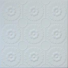 R36 STYROFOAM CEILING TILE 20X20 - ANTIQUE WHITE MATTE