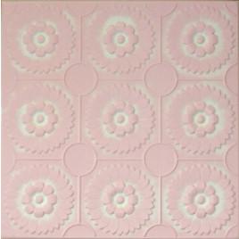 R36 STYROFOAM CEILING TILE 20X20 - WHITE PINK