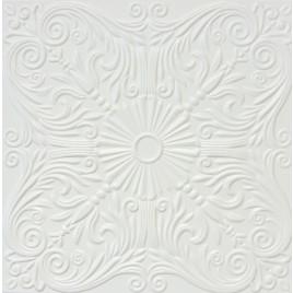 R39 STYROFOAM CEILING TILE 20X20 - ANTIQUE WHITE MATTE