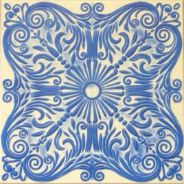R39 STYROFOAM CEILING TILE 20X20 - WHITE BLUE