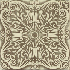 R39 STYROFOAM CEILING TILE 20X20 - BROWN WHITE