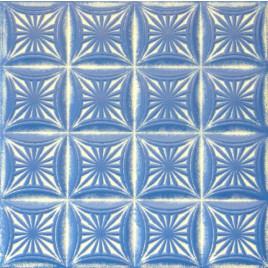 R40 STYROFOAM CEILING TILE 20X20 - WHITE BLUE