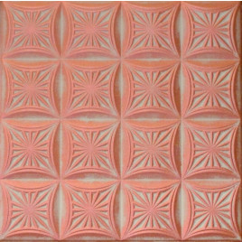 R40 STYROFOAM CEILING TILE 20X20 - WHITE COPPER