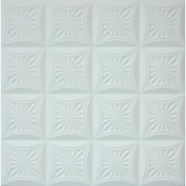 R40 STYROFOAM CEILING TILE 20X20 - ANTIQUE WHITE MATTE