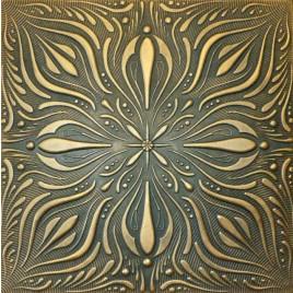 R9 STYROFOAM CEILING TILE 20X20 - BLACK GOLD