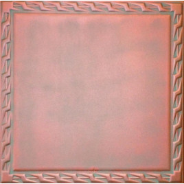 R26 STYROFOAM CEILING TILE 20X20 - COPPER PATINA
