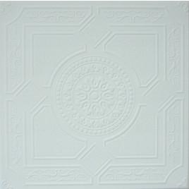R30A STYROFOAM CEILING TILE 20X20 - LIMA - ANTIQUE WHITE MATTE