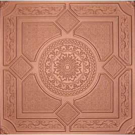 R30A STYROFOAM CEILING TILE 20X20 - LIMA COPPER PENNY