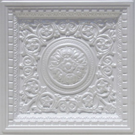 VC 02 PVC CEILING TILE 24X24 DROP IN - WHITE PEARL