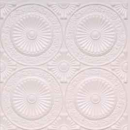 D235 PVC CEILING TILE 24X24 GLUE UP - WHITE PEARL
