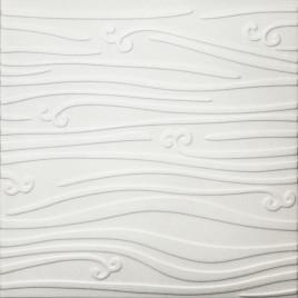 R102 STYROFOAM CEILING TILE 20X20 - PLAIN WHITE