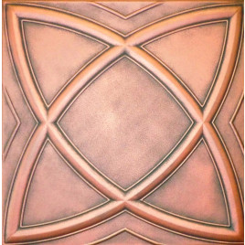 R13 STYROFOAM CEILING TILE 20X20 - SATURN - ANTIQUE COPPER