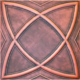 R13 STYROFOAM CEILING TILE 20X20 - SATURN - BLACK COPPER