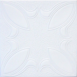 R16 STYROFOAM CEILING TILE 20X20 - PLAIN WHITE