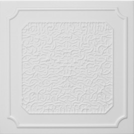 R20 STYROFOAM CEILING TILE 20X20 - PLAIN WHITE