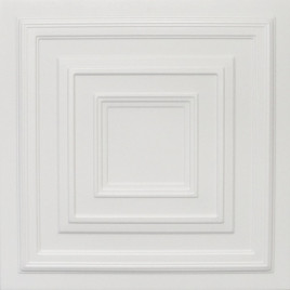 R33 STYROFOAM CEILING TILE 20X20 - PLAIN WHITE