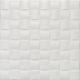 R35 STYROFOAM CEILING TILE 20X20 - PLAIN WHITE